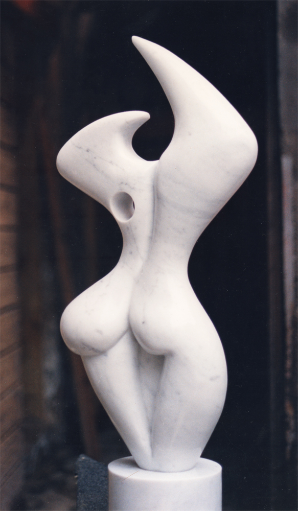 Esaltazione Formale, 1956, realized on marble by hand by Giorgio Zennaro in 1986